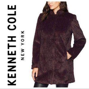 KENNETH COLE Vegan FUR COAT Woobie
